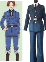 65% cotton+35% polyester Axis Powers Hetalia Lithuania Cosplay Costume new version E001