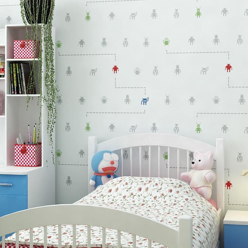 Buy 2016 new coming lovely robot design for Robot baby room decor