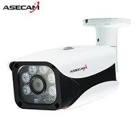 New HD 1080P H 265 IP Camera Onvif IMX323 Bullet Waterproof CCTV Outdoor 48V PoE Network