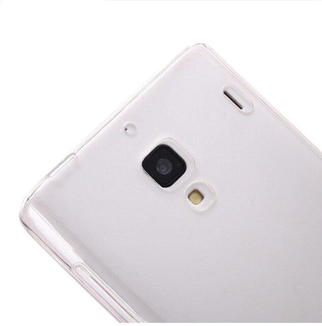 the best attitude 756a8 9f5ed US $5.99 5% OFF|Xiaomi redmi 1s case Transparent soft silicone shell ultra  thin cover HongMi 1s (4.7