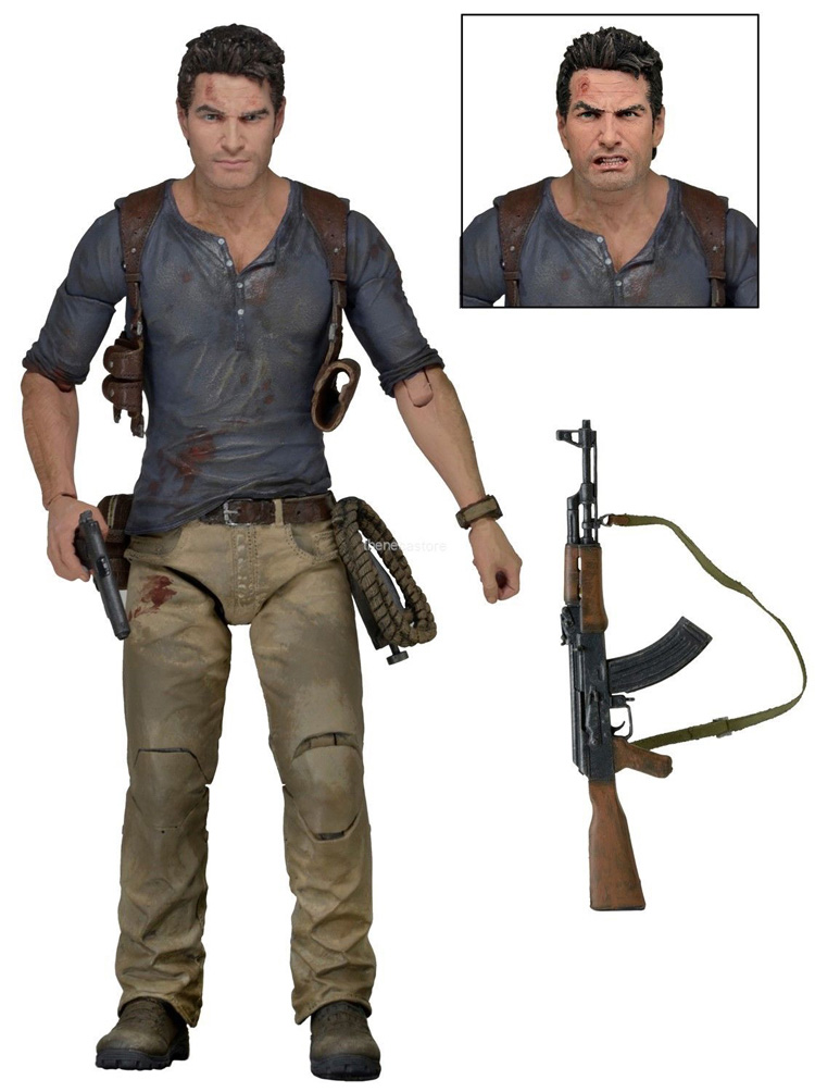 NECA Luxury Version Of The Mysterious Sea 4 Thief End Drake 7-Inch Mobile Doll Boxed Hands Model uncharted 4 путь вора a thief s end [ps4]