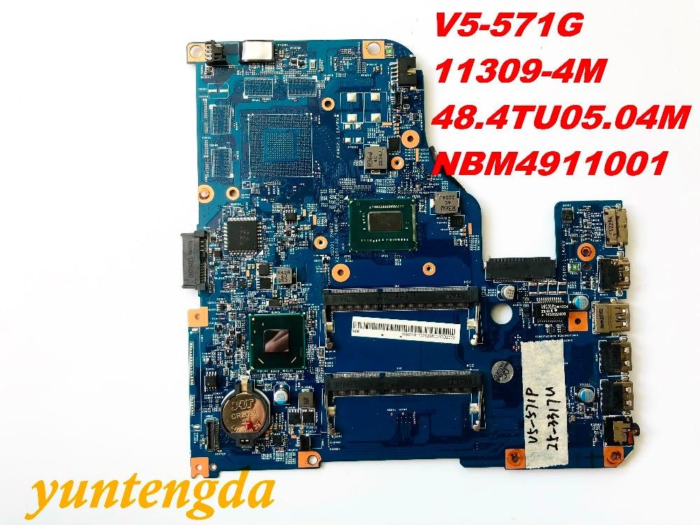 Original for font b ACER b font V5 571 V5 571G motherboard I5 3317U 11309 4M