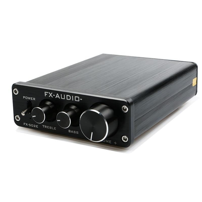 bilder für FX-Audio FX502E Hifi 2,0 TDA7498L LM1036 Desktop Computer Lautsprecher High Power Rein Digitales Audio Verstärker Ausgangsleistung 68 Watt * 2