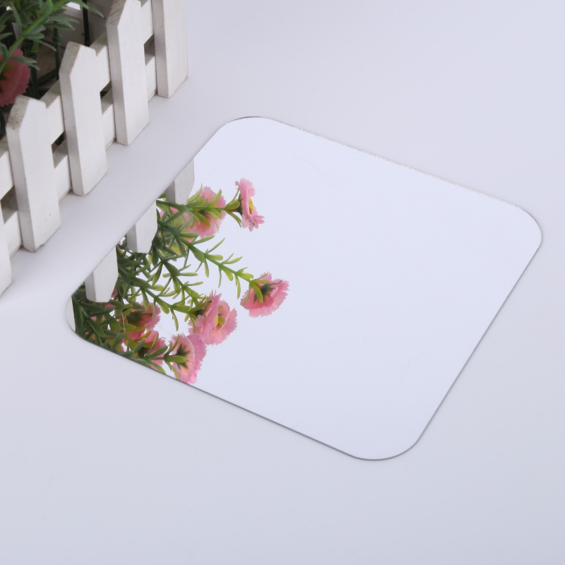 US $4 17 |DIY 6 Pcs Square Mirror Tile obtuse Angle Wall Stickers 3 d Decal  Mosaic Home Room Decoration New-in Wall Stickers from Home & Garden on