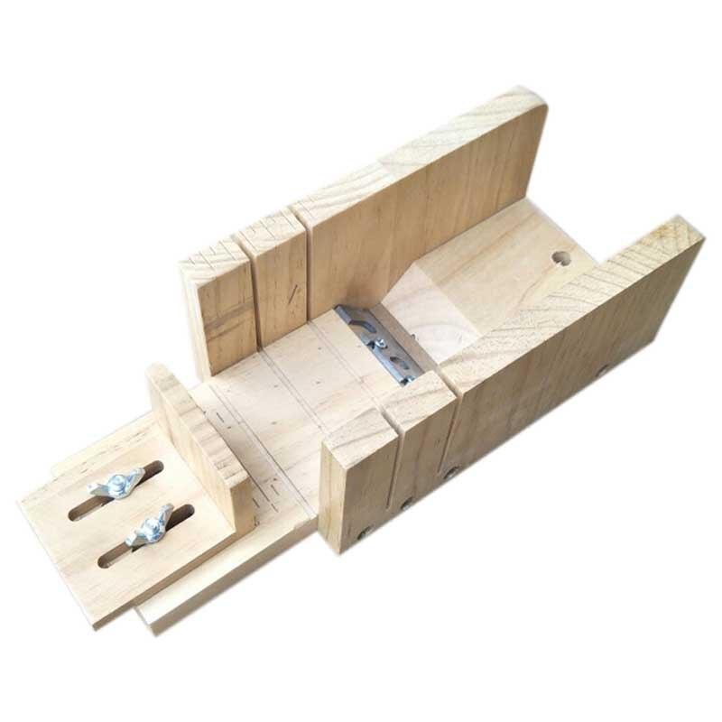 Handmade Soap Diy Material Tool Wood New Simple Multifunctional Soap Cutter Beveler Planer Tool Gradienter