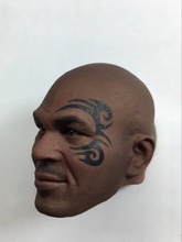 Custom 1/6Scale  Mike Tyson Tattooed Head Sculpt Boxing King F Hot Toys COOMODEL Figure