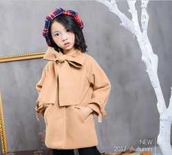 Новое платье для маленьких девочек бутик камвольно большой бант пальто, принцесса дети мода элегантный верхняя одежда оптом 200 шт./лот