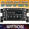 WITSON цена завода!! автомобильный dvd для SUZUKI GRAND VITARA 2005-2012 gps Емкостный Сенсорный Экран + Зеркало Ссылка + DSP + TPMS + DVR + 3 Г WI-FI