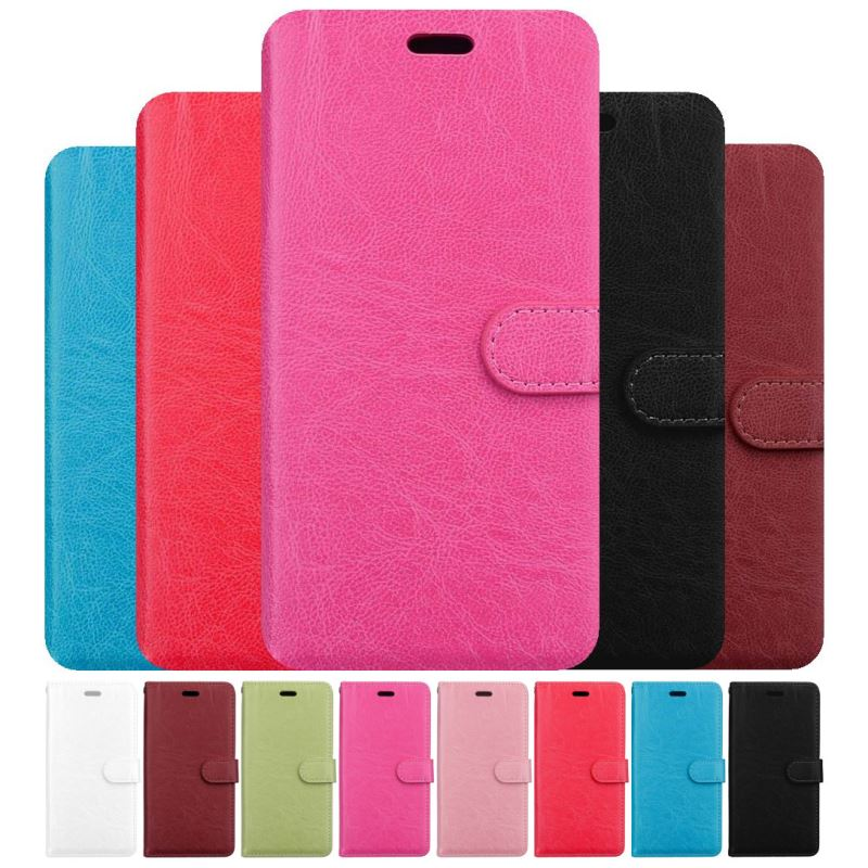 High Quality Flip Phone Case sFor Asus Max M1 Pro ZB555KL ZB601KL ZB631KL ZB663KL Card Slot Stand Coque Solid Color Capa DP08G in Wallet Cases from Cellphones Telecommunications