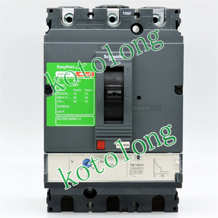 EasyPact CVS100B TMD 3P LV510304 3P-50A LV510305 3P-63A  LV510306 3P-80A  LV510307 3P-100A k1359 2sk1359 to 3p