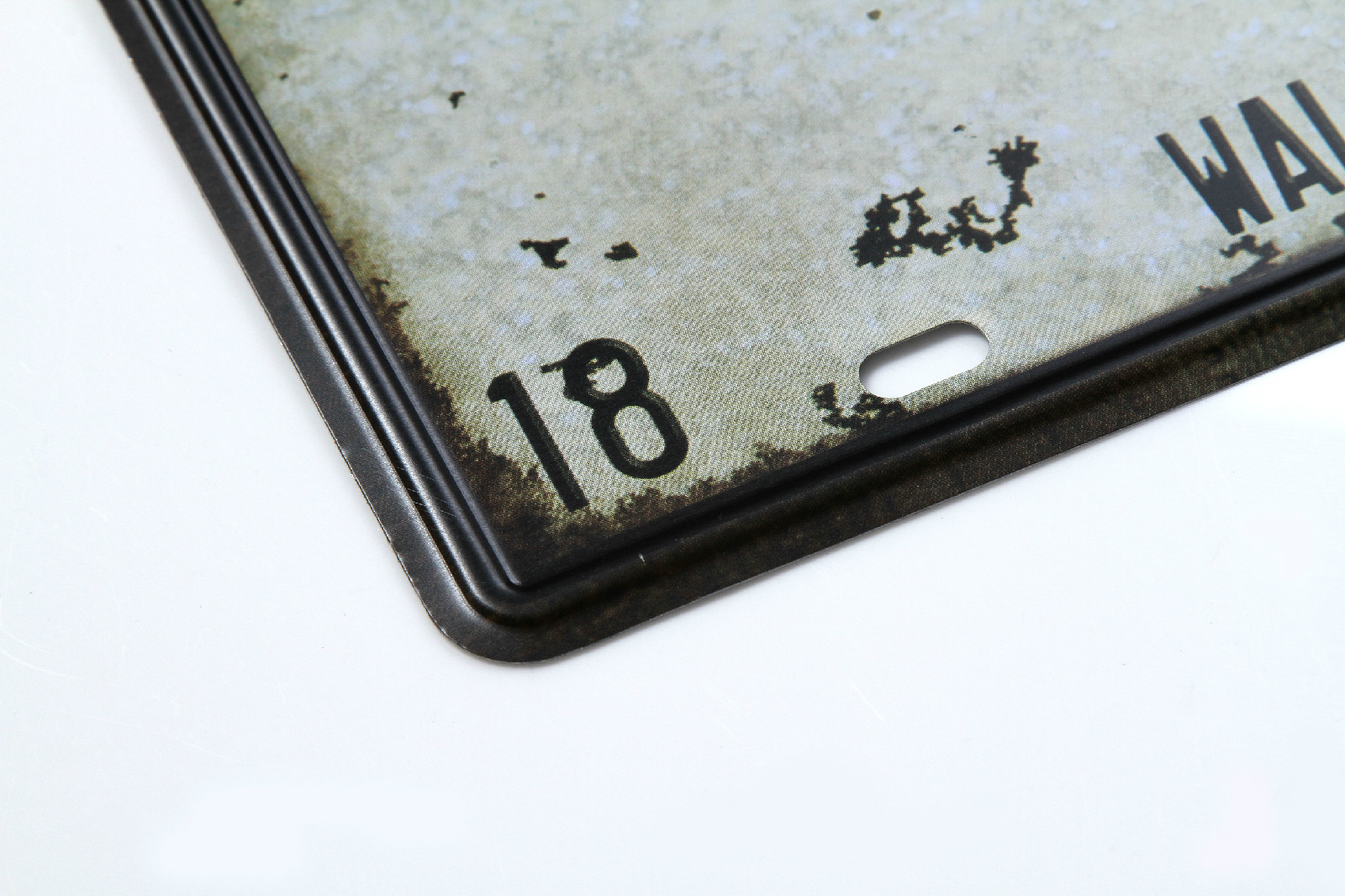 Vintage Car Plate USA FBI FBI-007 Wall Art Craft Vintage Iron Metal Painting for Bar Decor Decorative Metal Plate Iron Plate