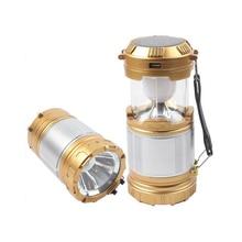 LED Solar Energy Charging Lamps Outdoor Activities Camping LED Lantern Emergency Lighting Flashlight Handed Solar Lamp