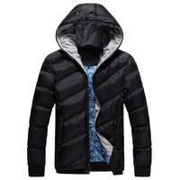 2017 New Male Brand Parkas Winter Jacket Men Thicken Hooded Coats Outerwear Warm Coat Duck Down
