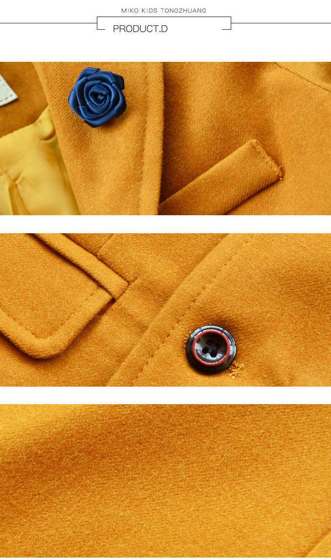 結婚式のスーツのブランドのブレザー + パンツ服セット花正式なタキシード学校スーツ子供誕生日パーティーの摩耗
