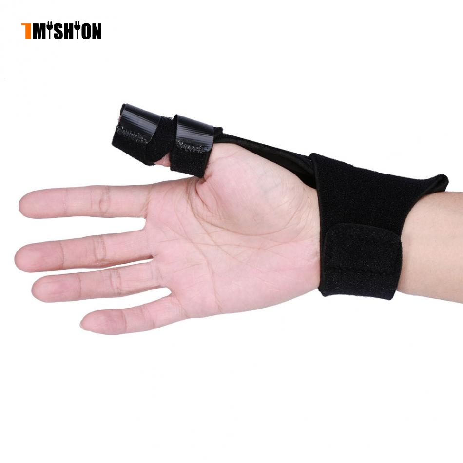Adjustable Finger Protector Aluminium Finger Splint Hand Support Recovery Posture Corrector Brace Protection Injury Aid Tools