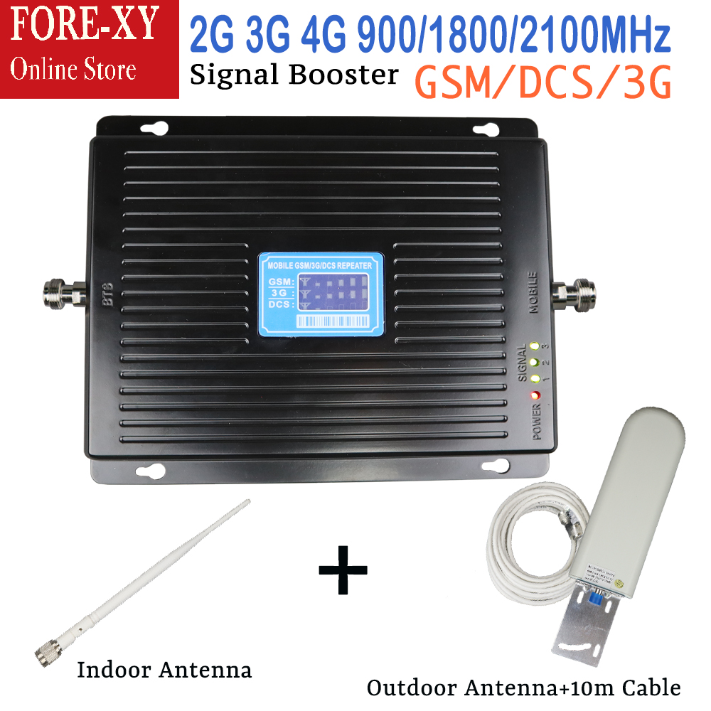 2G 3G 4G 75dB Cellular Signal Booster GSM 900 DCS LTE 1800mhz WCDMA 2100mhz Signal Repeater sets Signal Amplifier with antenna2G 3G 4G 75dB Cellular Signal Booster GSM 900 DCS LTE 1800mhz WCDMA 2100mhz Signal Repeater sets Signal Amplifier with antenna