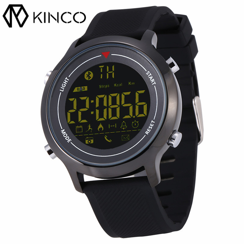 Sport IP67 Bluetooth 1.1 inch Steps Count Burned Calory Remote Camera Call Information Reminder Smart Watch for IOS/Android