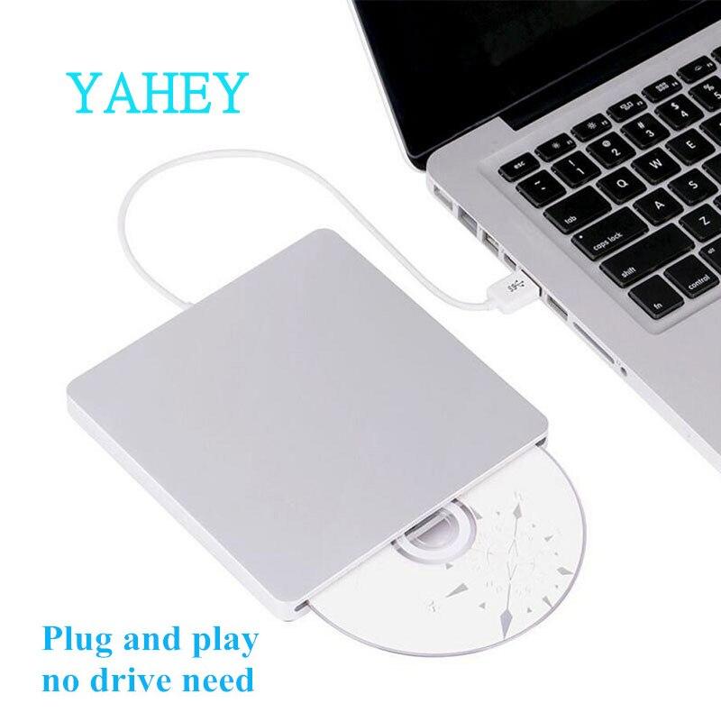 USB 3.0 à Chargement par Fente Lecteur Bluray Externe DVD RW Graveur Écrivain 3D Bleu-ray Combo BD-ROM Lecteur pour Apple macbook Pro iMac Ordinateur Portable