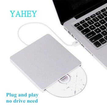 USB 3,0 слот нагрузки внешний Bluray привод DVD RW горелки Писатель 3D Blue-ray Combo BD-ROM плеер для ноутбука Apple MacBook Pro IMAC