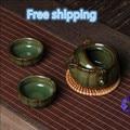 free shipping Kung fu tea set a pot of a cup