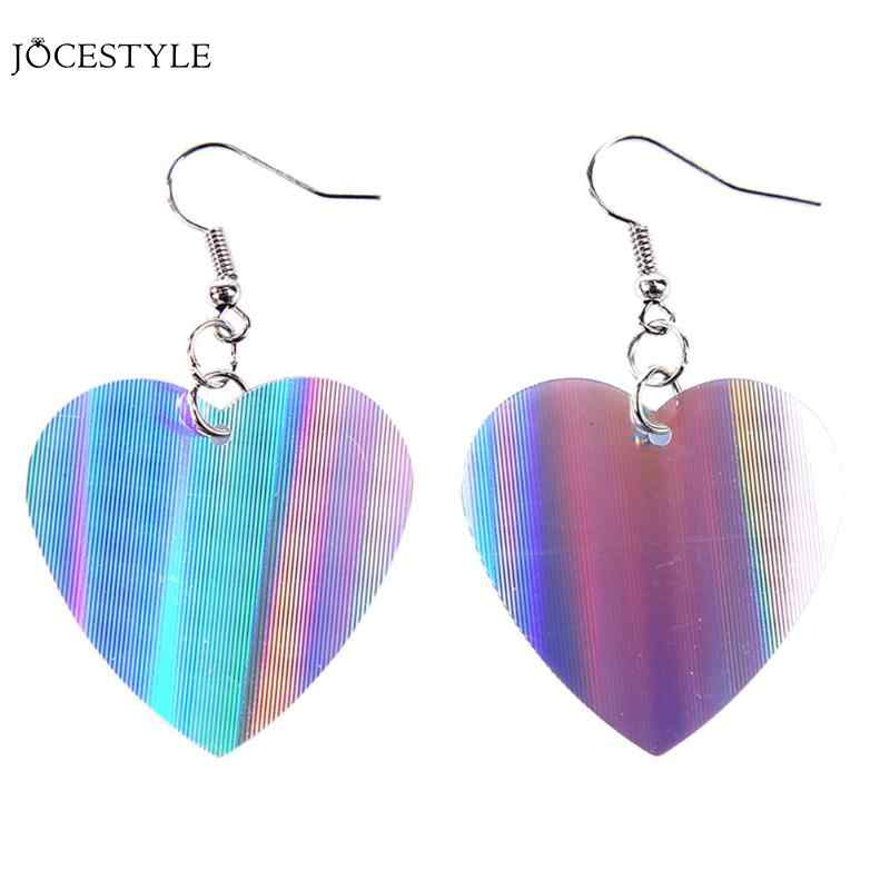 Trendy Sequins Love Heart Pattern Dangle Earrings for Women Jewelry Sequins Hook Drop Earrings Jewelery Dropshipping