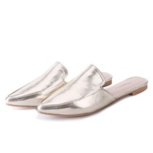 TongPu Women's Mule Shoes Pointed Toe Outdoor Fashion Slippers 225-533