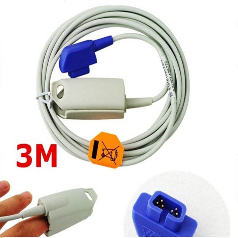 Compatible For Criticare   Csi 6pin Adult Fingerclip Spo2
