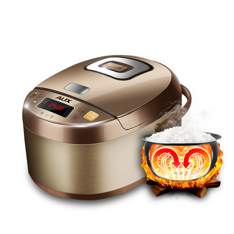 220V 4L Multifuntional Electric Rice Cooker Microcomputer Control Non stick Inner With Reservation Function EU/AU/UK