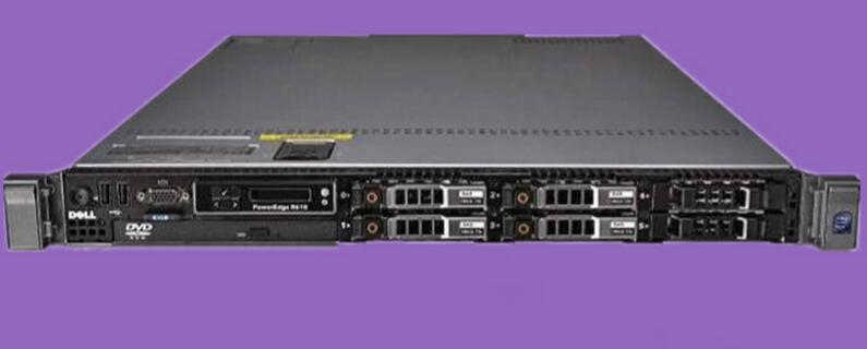 Original R610 server L5630*2/ 8G memory/300G*2.5*1/ H700 RAID card/single power