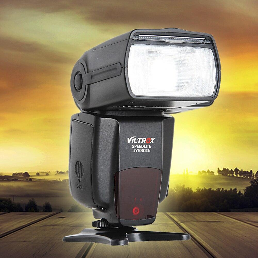 Viltrox JY-680CH 1/8000S High Speed Sync HSS TTL Flash Speedlite for Canon DSLR 760D 750D 700D 650D 70D 60D 5DII 7D genuine meike mk950 flash speedlite speedlight w 2 0 lcd display for canon dslr 4xaa