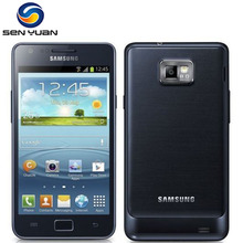 Unlocked Samsung GALAXY S2 I9100 Cep Telefonu Android Wi-Fi GPS 8.0MP kamera Çekirdek 4.3 ''1 GB RAM I9100 Telefonu