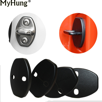 Car Door lock Buckle Cover For Audi A1 A5 A3 e-tron A4 A4L A6 A7 A8 S3 S5 S6 S7 S8 SQ5 TT TTS RS5 RS6 RS7 Q3 Q5 Q7 SQ5 image