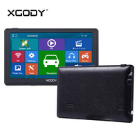 XGODY 715 7 Inch Car Truck GPS Navigation 128M 8GB Capacitive Screen FM Navigator Reversing Camera