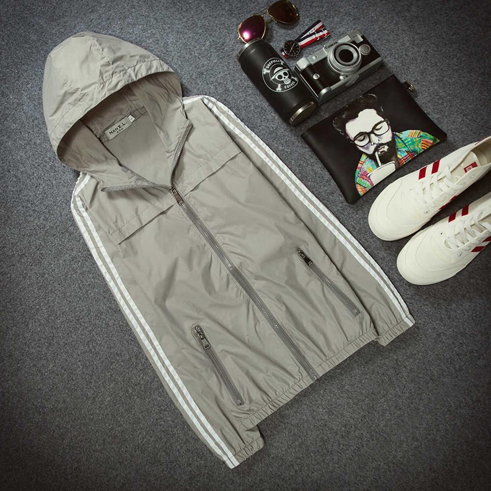 Уличная Повседневная одежда быстросохнущая анти-УФ дышащий Защита от солнца пальто Мужская спортивная одежда парные куртки