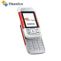 원래 노키아 5300 잠금 해제 2G GSM 900/1800/1900 모바일 휴대 전화 지원 영어/러시아어/아랍어/히브리어 키보드 휴대 전화