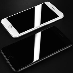 Image 5 - واقي شاشة كامل 6D Edge لهاتف آيفون X XS 7 8 6 6s Plus واقي شاشة لهاتف آيفون 7 8 6 10 11 Pro XS MAX XR واقي زجاجي