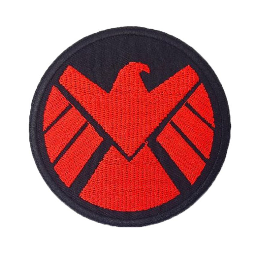IRON-MAN Marvel SHIELD AGENT Movie Iron-On Embroidered Patch S.H.I.E.L.D.