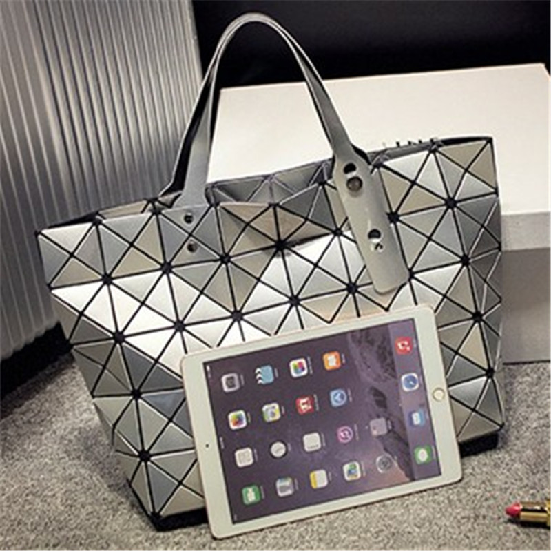 bao bao issey geométrica diamante Leather Bags Women : Luxury Handbags Women Bags Designer