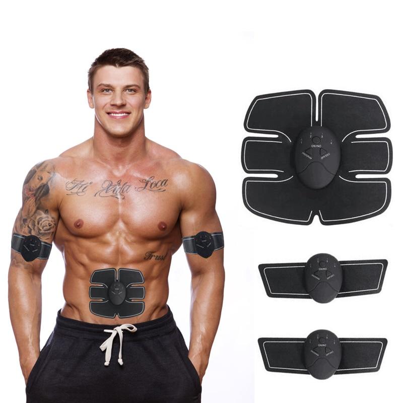 Wireless Muscle Stimulator EMS Stimulation Body Slimming Beauty Machine Abdominal Muscle Exerciser Training Device Body Massager herbal muscle