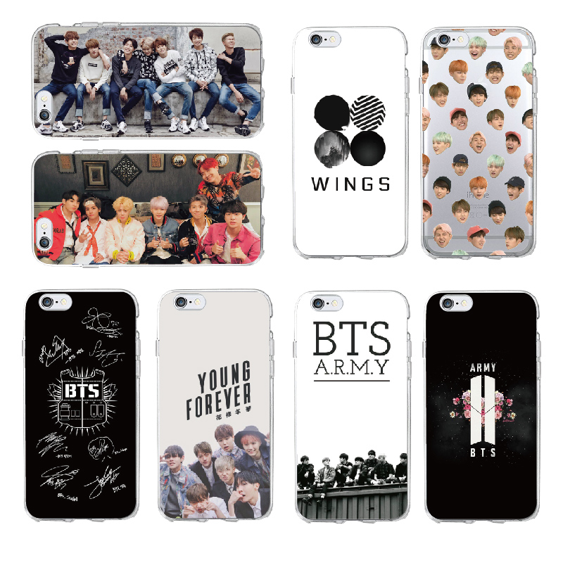 Tomocomo Bts Korea Bangtan Boys Young Forever Jung Kook V Spring Day Phone Case For Iphone 5 6 7 7plus 8 8plus X Xs Max Cover A Plastic Case Is Compartmentalized For Safe Storage Cellphones & Telecommunications