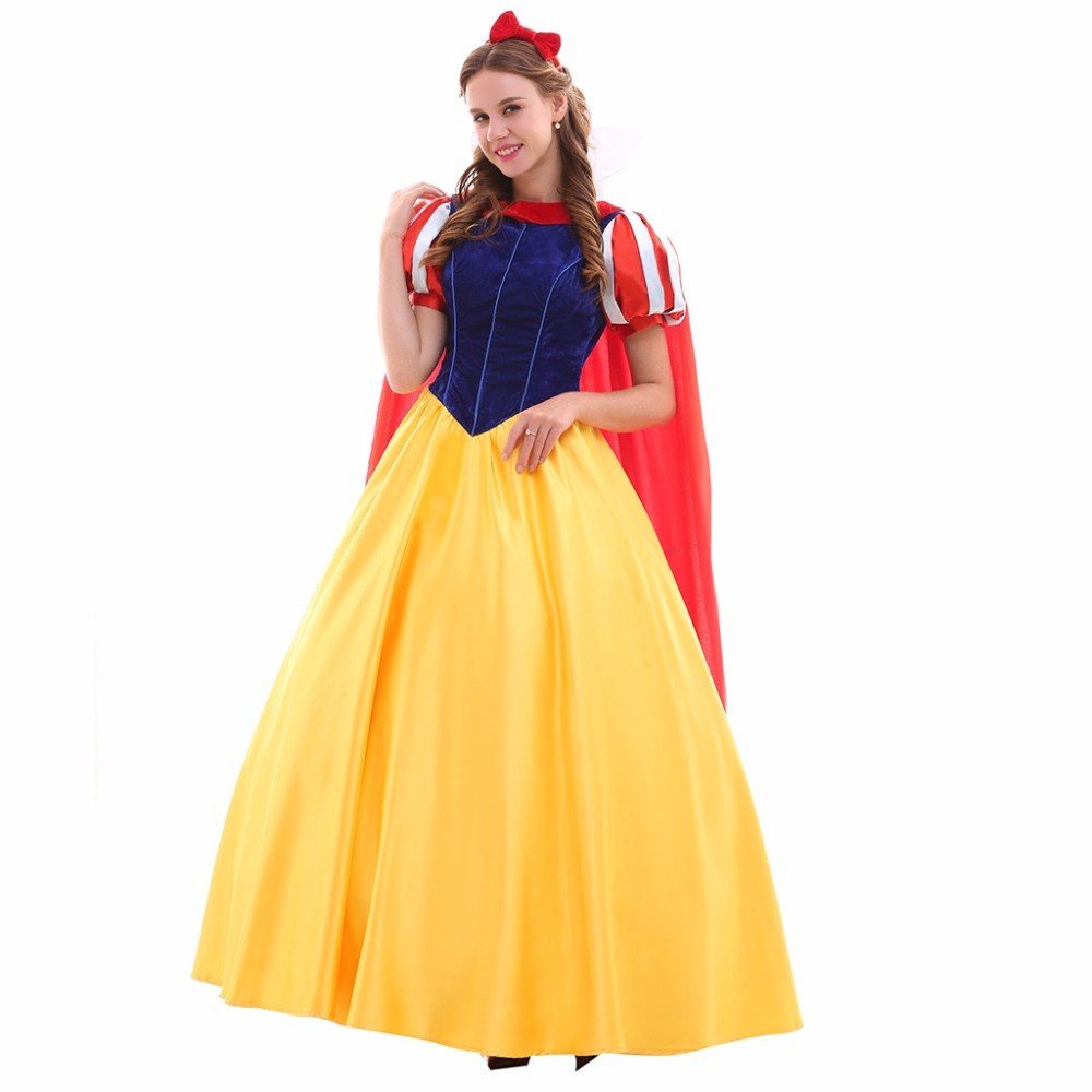 Aliexpresscom buy cosplaydiy custom made snow white for Wedding dress costume for adults