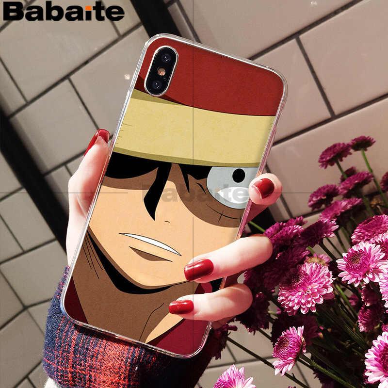 Babaite חתיכה אחת לופי יוקרה גבוהה סוף טלפון אביזרי מקרה עבור iPhone 8 7 6 6 S בתוספת X XS מקסימום 10 5 5S SE XR Coque פגז