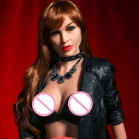 Pinklover 158cm TPE Silicone Sex Dolls Plump Boobs with Skeleton Lifelike Vagina Pussy sex shop online