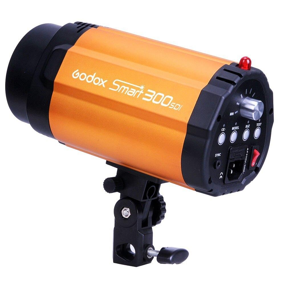 Godox Smart 300SDI GN58 Pro Photography Studio Strobe Photo Flash Light 300ws 300w Lamp Head Orange (AC 220V / 3-Flat-Pin Plug)