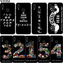 Central Perk Coffee friends tv Park Coque For Huawei P30 Pro For huawei p20 lite case Mate 20 lite Honor 8X 10 PSmart Etui Cover to4rooms стол perk