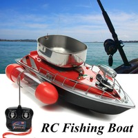 Mini Remote Control RC Wireless Fishing Lure Bait Boat 80 300M For Finding Fish