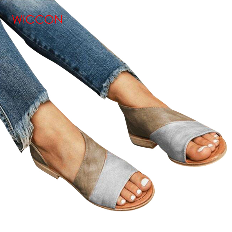 Women Sandals Summer Shoes Fashion Casual Rome Peep Toe Low Heels Square Heel Shoes Retro Sandals Zomerschoenen big toe sandal