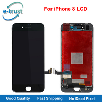 E Trust Grade AAA Quality LCD Display For IPhone 8 Touch Screen Digitizer Assembly LCD Replacement