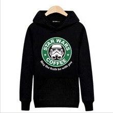 Star Wars Yoda Darth Vader hoodies men 2017 autumn winter new men s sweatshirts casual fleece