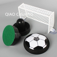 Suspension Pneumatic Football Indoor Kids Sports Air Power Soccer Disk With LED Light Action Figure Collectible